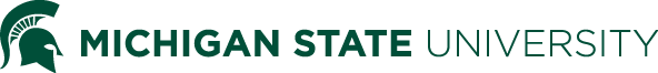 Michigan State University masthead graphic